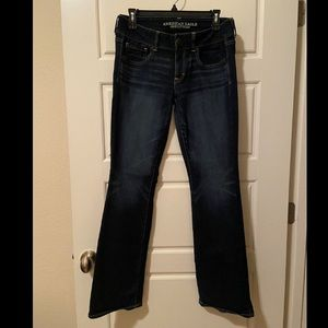 AMERICAN EAGLE Kick Boot Jeans - size 8